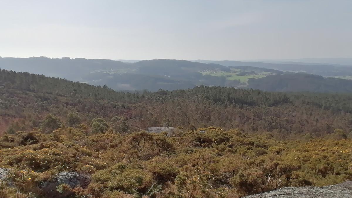 Vistas desde monte do Gato