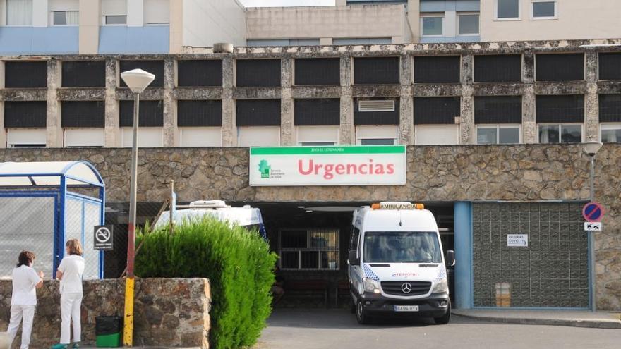 Un trabajador herido grave tras sufrir un accidente en las obras del AVE en Plasencia