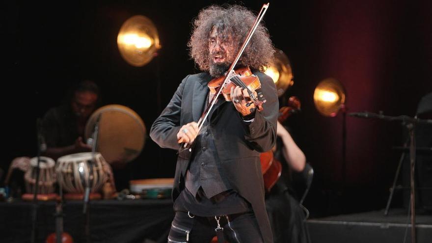 El violinista Ara Malikian actuará el 3 de agosto en Castrelos
