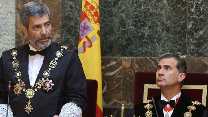 """Lesmes, a Mas: """"Fuera de la ley sólo hay espejismos"""""""