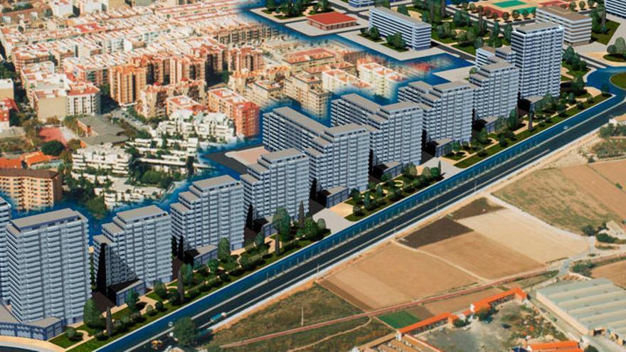 600 nuevas viviendas para Benimaclet