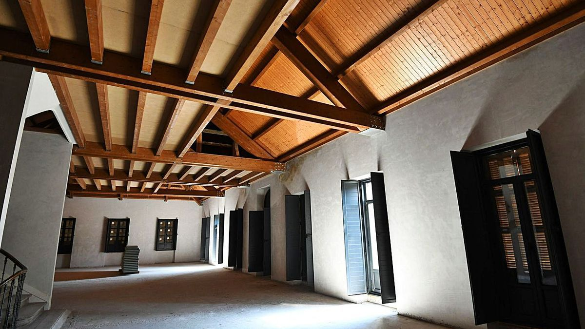 Interior del Pazo Besada. |   // GUSTAVO SANTOS