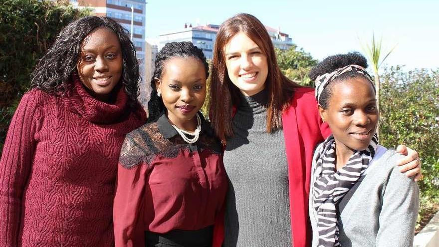Titulados de Kenia y Uganda ejercen de auxiliares de conversación en inglés con unos 2.900 escolares gallegos
