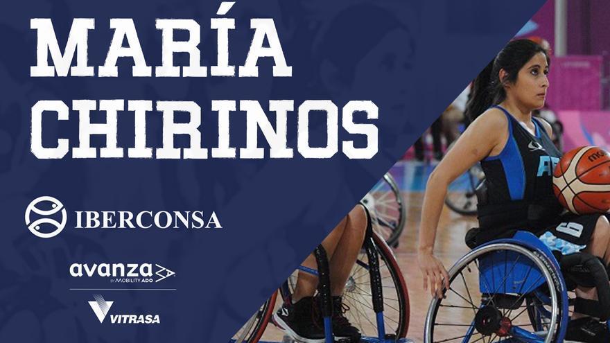 El Iberconsa cierra su plantilla con la argentina María Chirinos