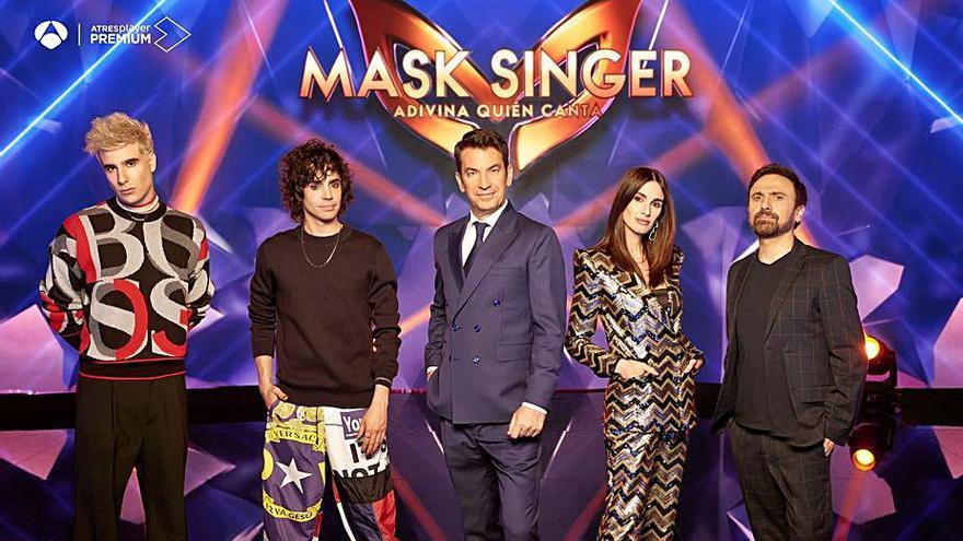 Antena 3 estrenará mañana la segunda temporada del concurso 'Mask Singer'