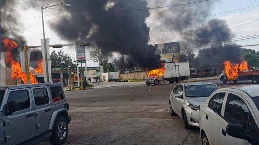 Cien homicidios al día: el 'narco' aterra a México
