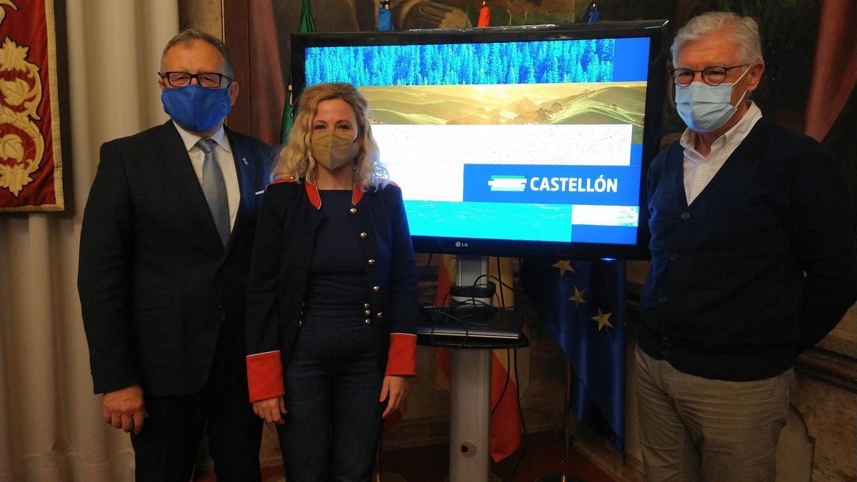 El uso de franjas de colores marca la nueva imagen turística de Castellón.