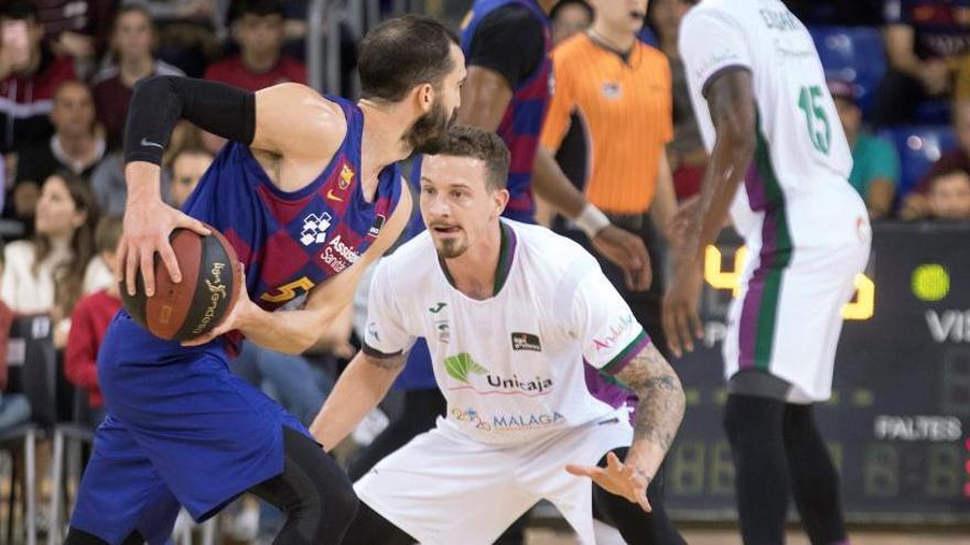 El Unicaja asesta un duro golpe al Barcelona