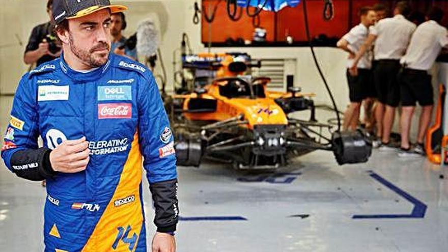 Alonso regresa un día al Gran Circo