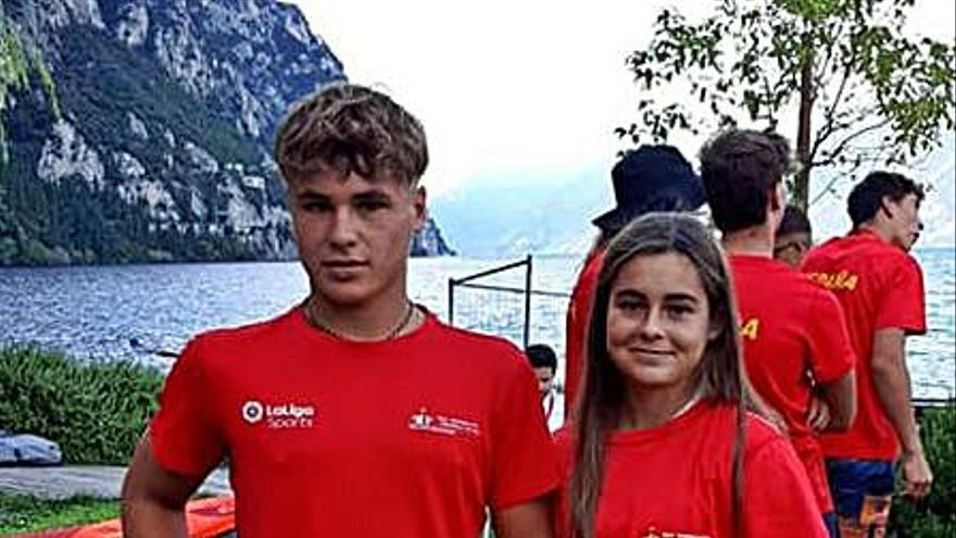Sergi Lafuente se impone en la flota Plata del Mundial Juvenil de iQFoil
