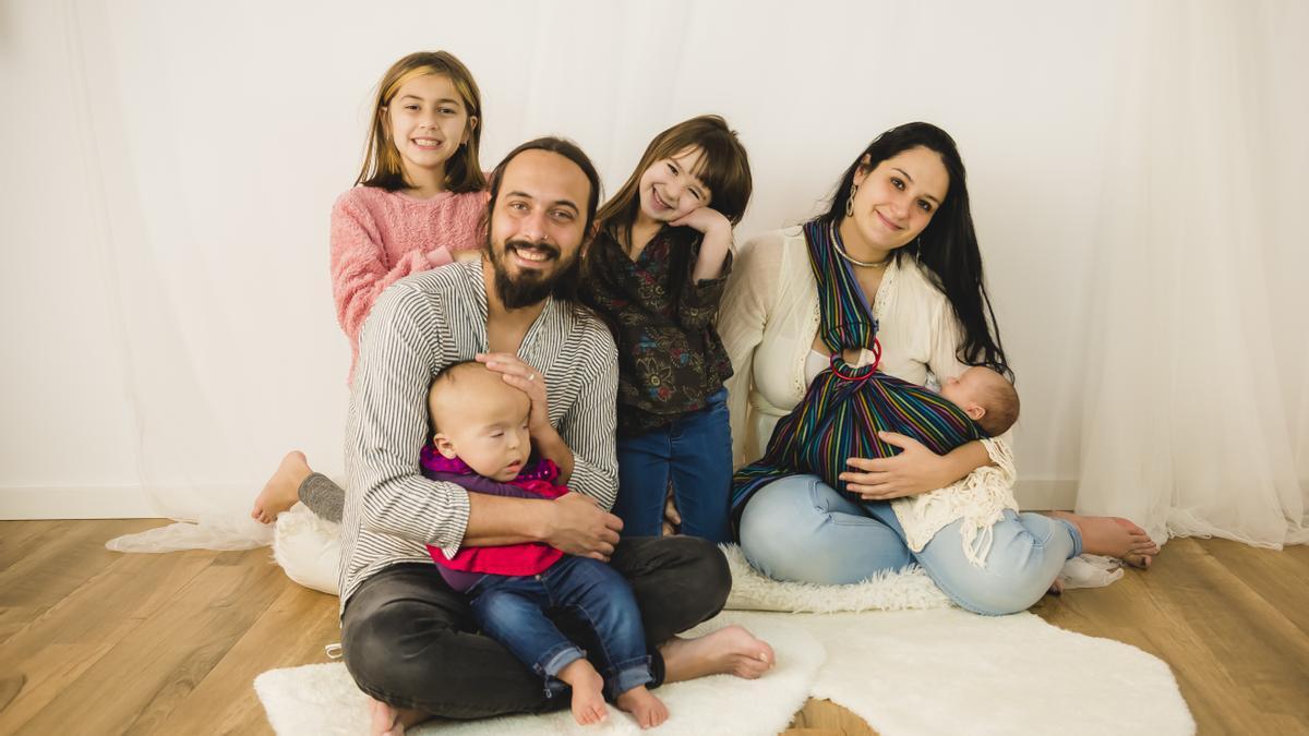 Fotografía de la familia de Sayen