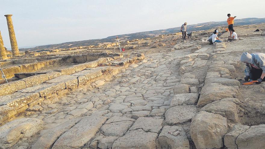 Las excavaciones arqueológicas solo llegan a once espacios este año