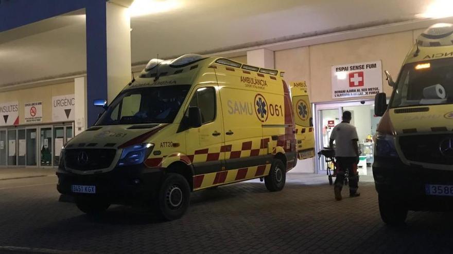 En estado crítico un motorista de 25 años tras un accidente en Formentera