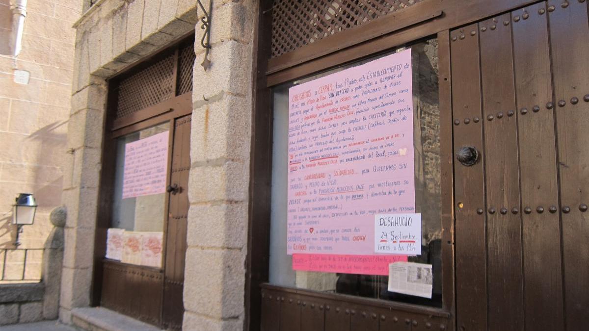 El Supremo inadmite el recurso de casación contra el cierre de local de San Jorge en Cáceres
