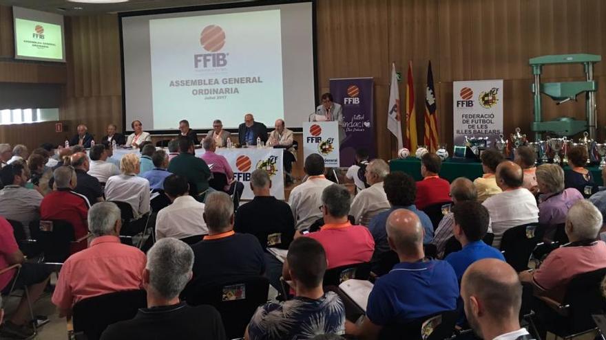 La Federación Balear de Fútbol tendrá 2,4 millones de euros de presupuesto en 2017