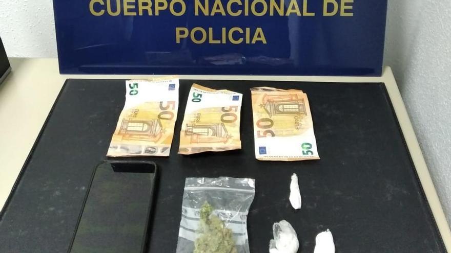Un detenido por venta de droga en el centro de Pontevedra