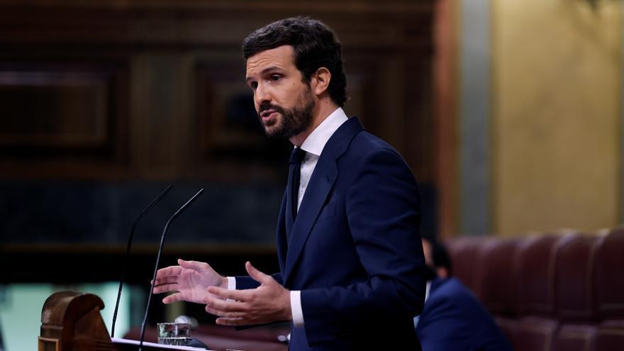 "Casado acusa a Sánchez de ""ocultar"" un acuerdo con Europa"