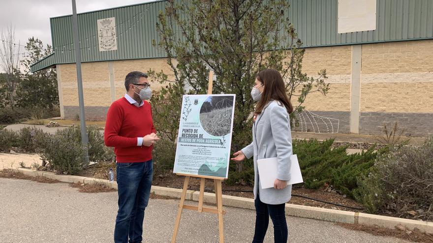 El Ayuntamiento de Caravaca habilita un punto para el depósito de restos de podas agrícolas