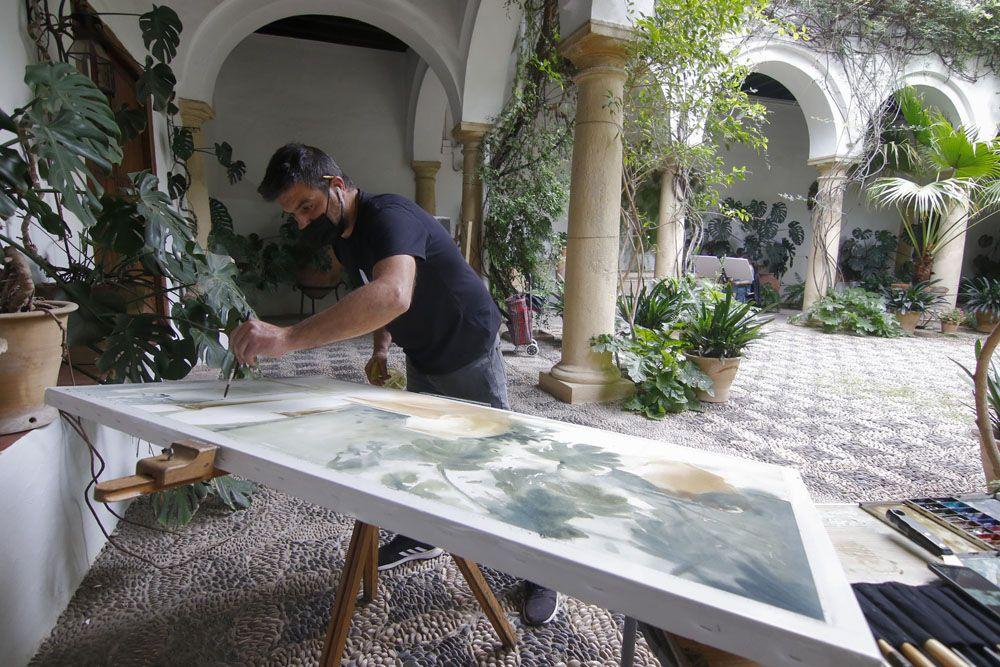 Un cuadro para los patios del Palacio de Viana