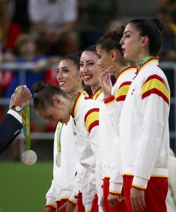 Olimpiadas Río 2016: España gana la plata en la final de gimnasia rítmica
