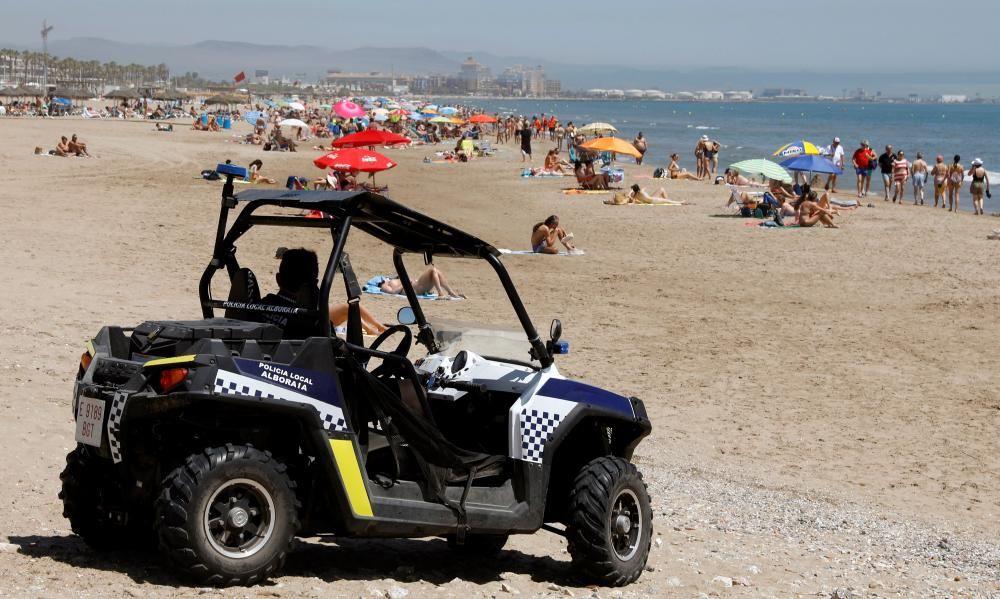 Playa de Alboraia entre la Patacona y el Carraixet