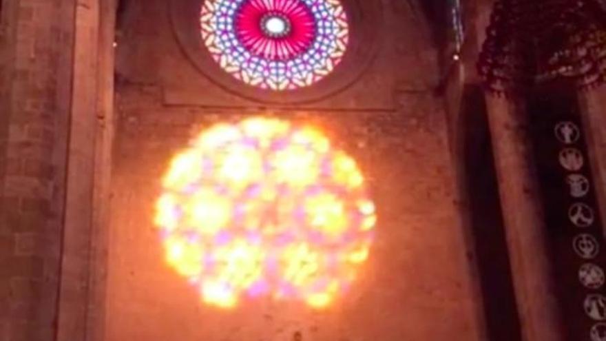 Bangen um die magische Acht in der Kathedrale von Palma