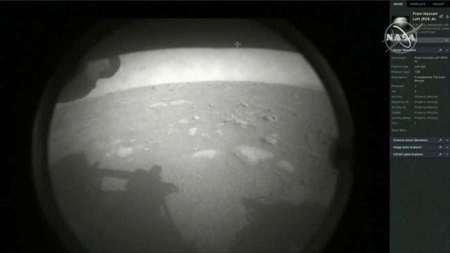 Perseverance aterriza con éxito en la mayor misión a Marte de la historia