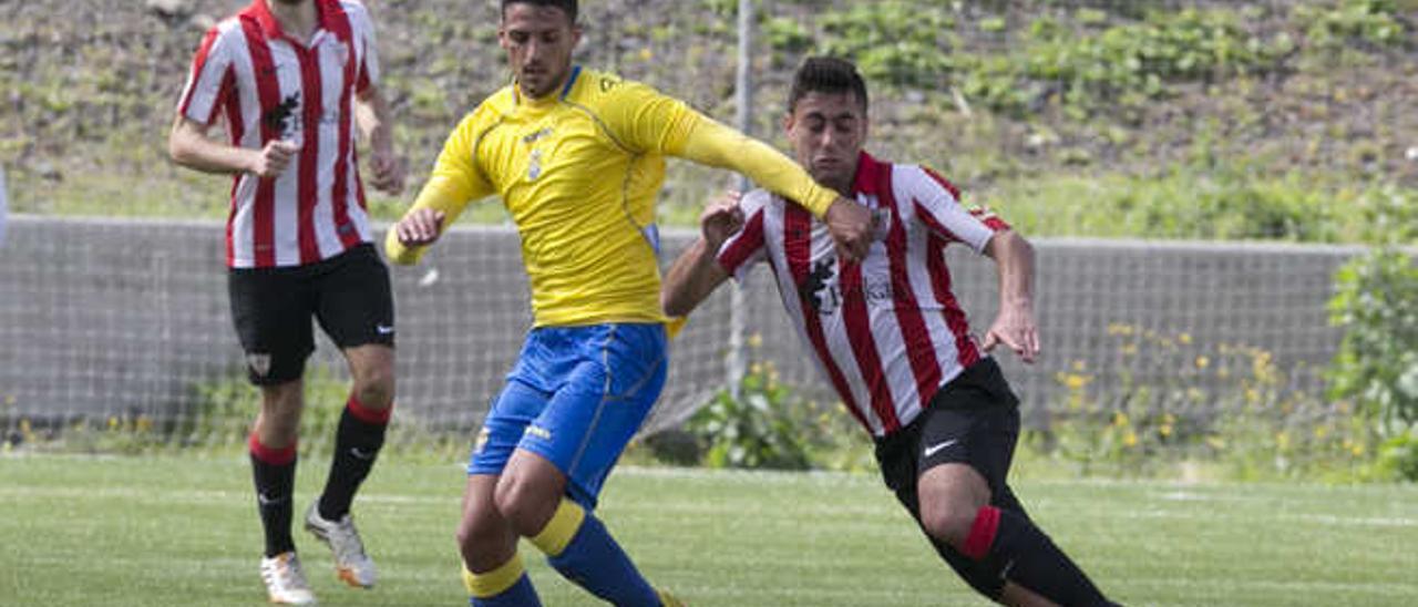 La salvación de Las Palmas Atlético empieza por Vizcaya