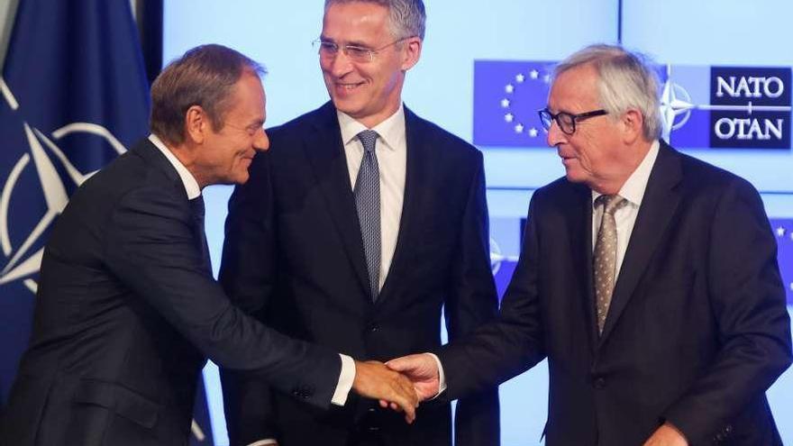 """Tusk insta a Trump a valorar más a sus aliados europeos puesto que """"no tiene tantos"""""""