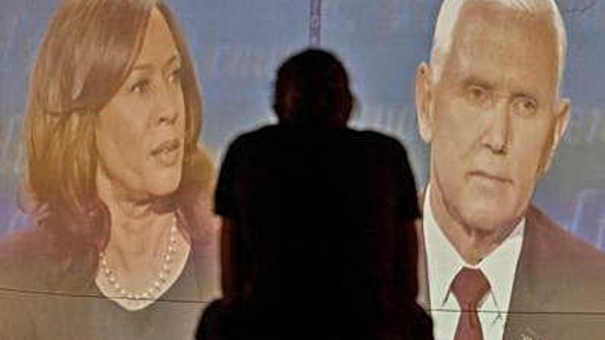 Harris y Pence protagonizan un debate vicepresidencial intenso pero civilizado