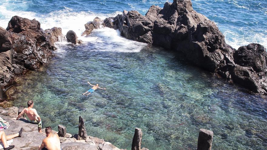Canarias presume de sus charcos