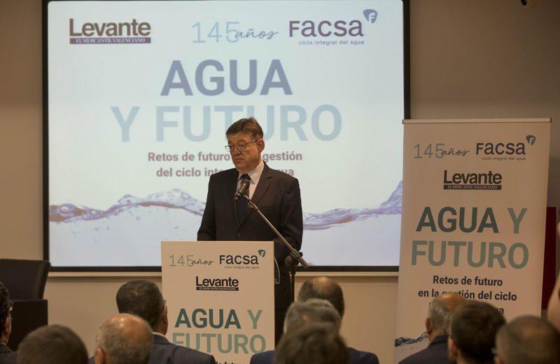 Desayuno 'Agua y futuro' organizado por Levante-EMV y Facsa