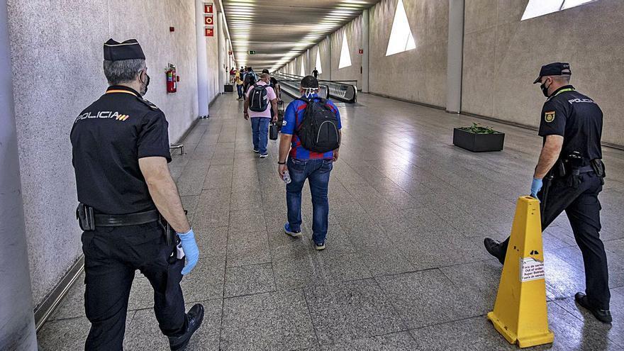 El uso policial de las cámaras del aeropuerto de Palma llega a los tribunales