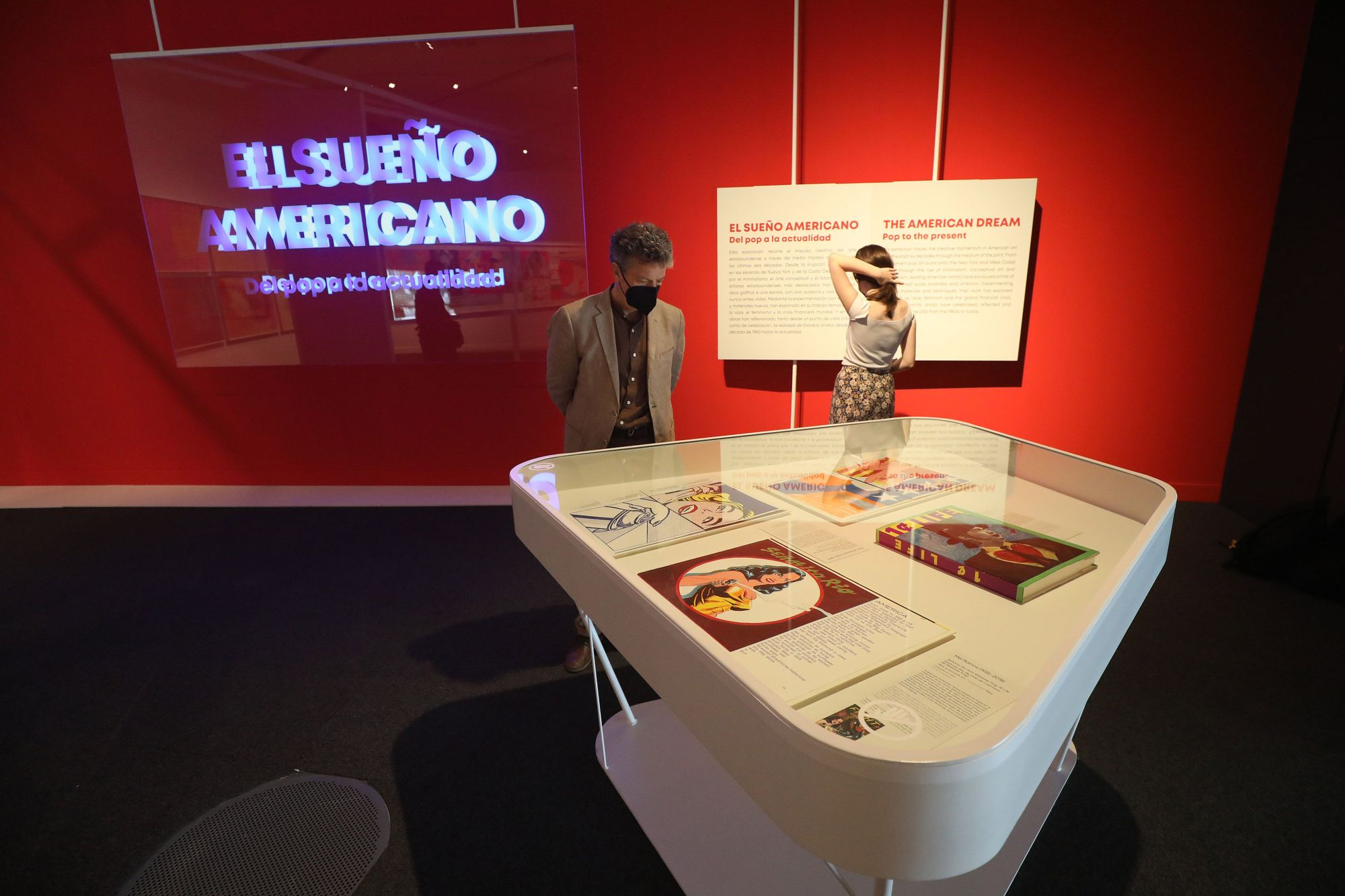 Exposición 'El sueño americano. Del pop a la actualidad' en el CaixaForum Zaragoza