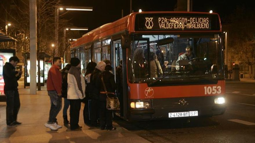 Vuelve el 'buhobús' a Zaragoza