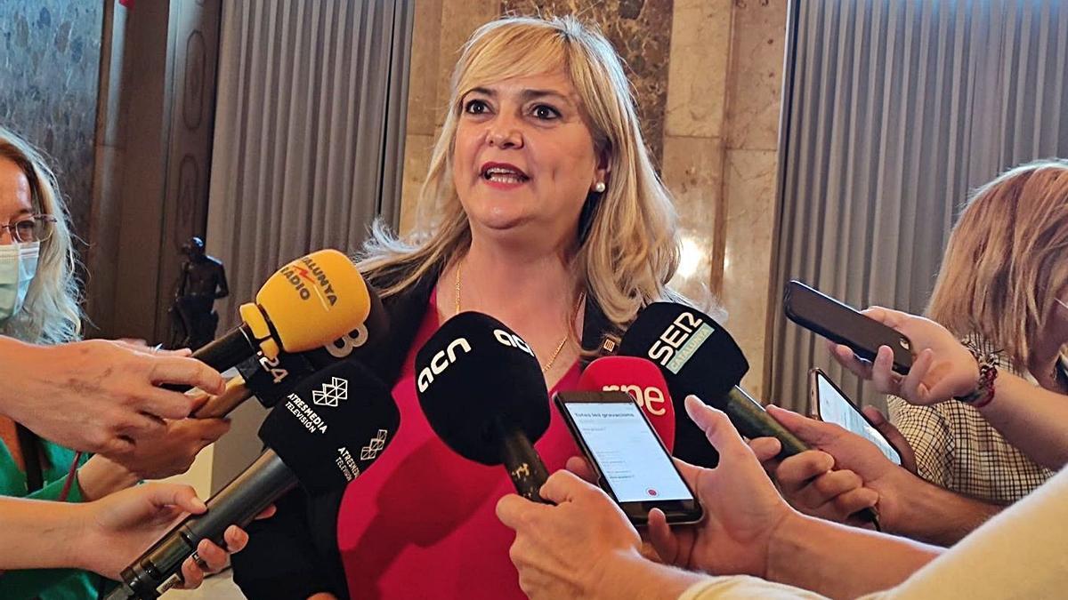 L'actual consellera de Drets Socials de la Generalitat, Violant Cervera | ARXIU/EP