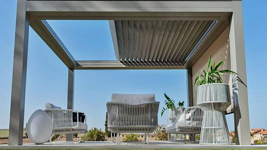 Pérgolas bioclimáticas para viviendas y negocios