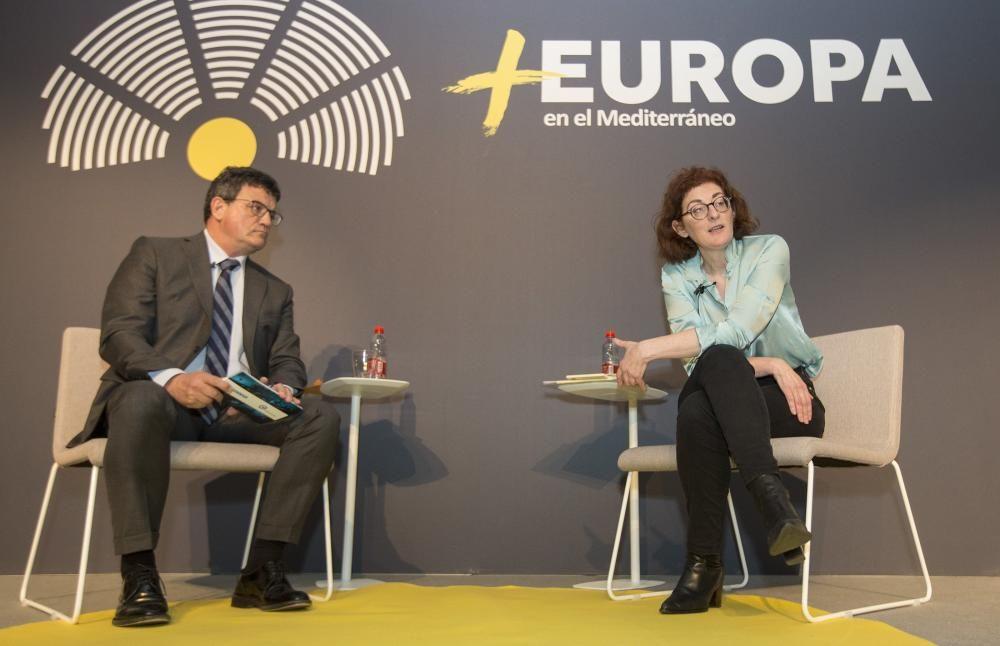Pagazaurtundúa en el «Foro +Europa»