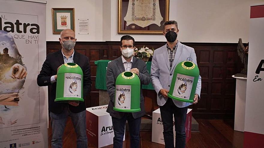 Arucas acoge la campaña Ecólatras para fomentar  el reciclado de residuos