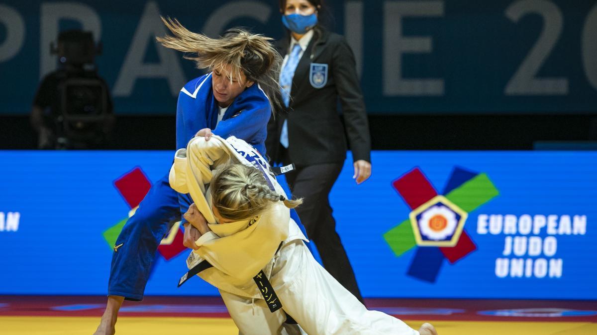 Se esfuma la posibilidad de medalla para la judoca Ana Pérez Box.