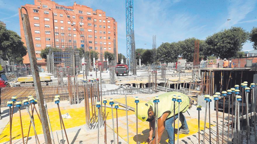 La obra nueva despierta en Castellón con récord de viviendas