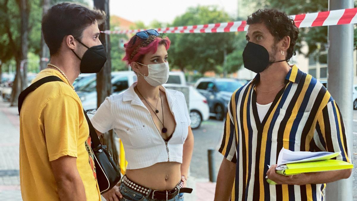 Paco León rueda 'Rainbow', su nueva película.