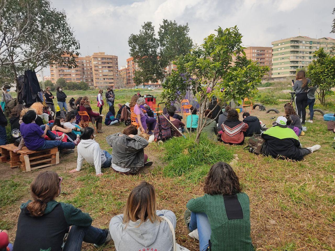 La Assemblea Feminista de València inicia los actos del 8 M