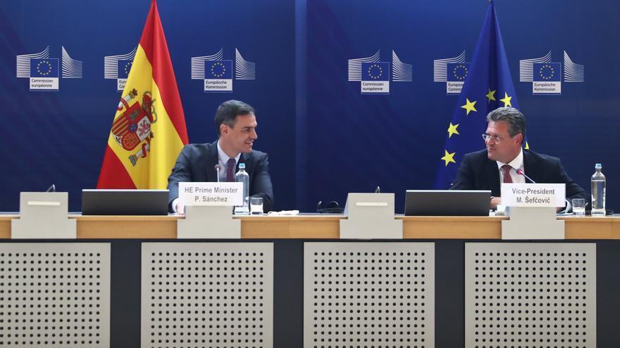 """Sánchez califica como """"bomba de relojería"""" la falta de confianza de los europeos en el futuro"""