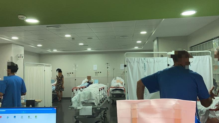 Colapsadas las urgencias de Son Espases por falta de camas y enfermeras