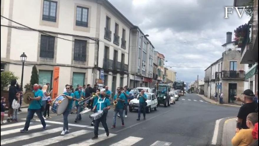 Agolada celebra su Festa dos Chóferes pese al COVID-19