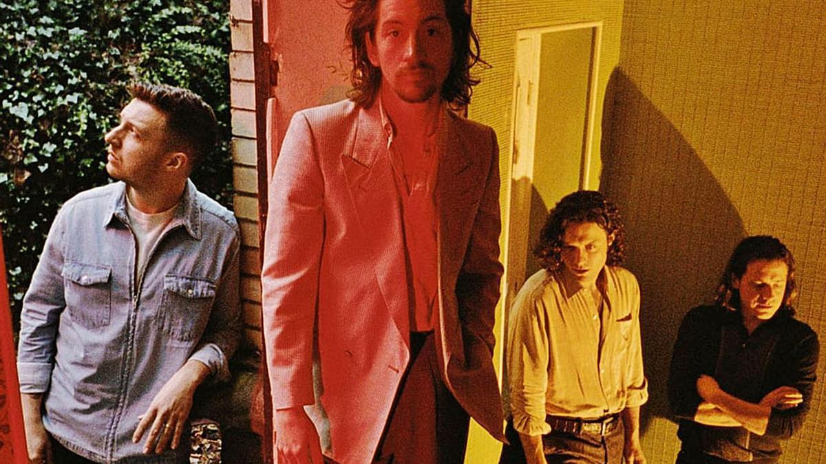 Matt Helders, Alex Torner, Jamie Cook i Nick O'Malley, els Arctic Monkeys. | L-EMV