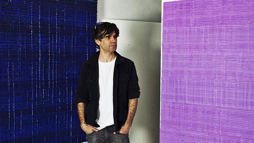 """El pintor Jorge Quijano, frente al """"tsunami de las imágenes"""""""