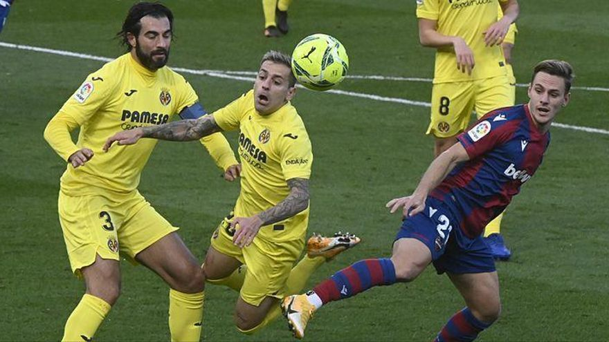 El Villarreal pierde ante el Levante en el último minuto de la prórroga (1-0)