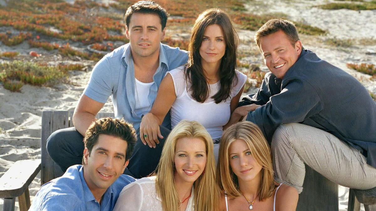 Imagen de archivo de los actores de 'Friends'.